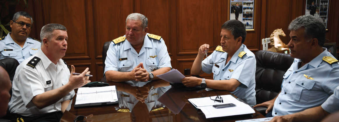 WVNG leaders establish priorities for future engagements with Peruvian military forces